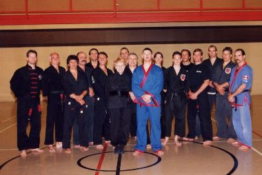 Margitte Hilbig and her Sifu's